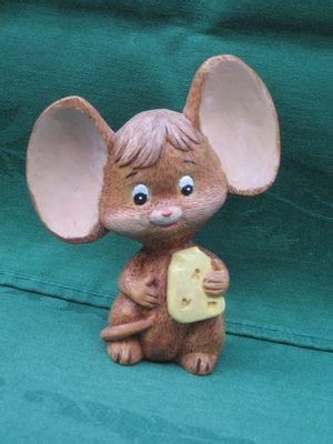 mouse wood carving animal projects
