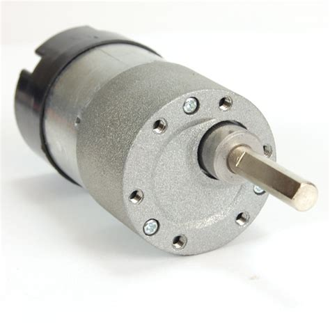 Dc Motors by Robot Dc Gearhead Motor 6v 180rpm W Encoder