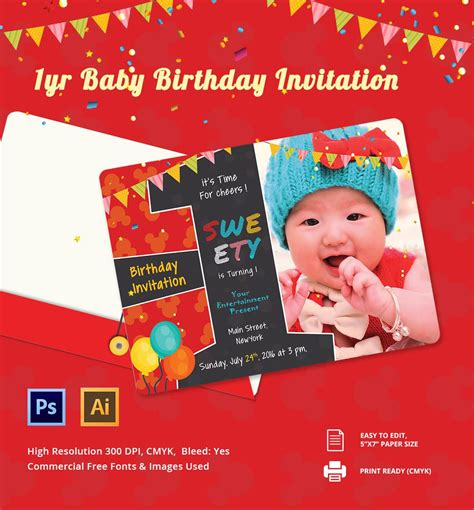 Birthday Invitation Card : Birthday Invitation Card