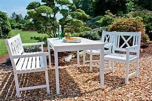 Gartentisch Weiß Rund : garden pleasure gartentisch malm eukalyptusholz 165x80 cm wei online kaufen otto ~ Markanthonyermac.com Haus und Dekorationen