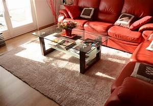 Tapis Beige Salon : tapis doux blog de d coweb ~ Teatrodelosmanantiales.com Idées de Décoration