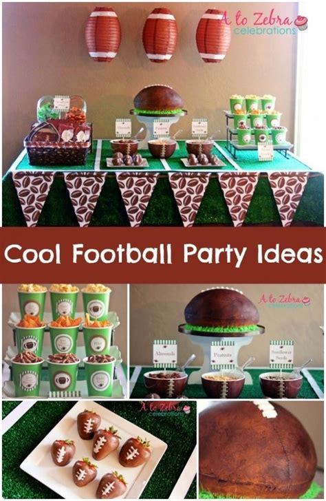 Football Party Decorating Ideas Elitflat