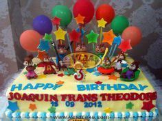 Alvin And The Chipmunks Cake Toppers Uk by Chipmunks The Chipettes And Cakes On