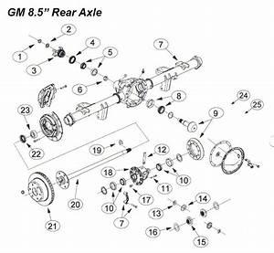 8 5 Inch Chevrolet Gmc Ring Pinion Rebuild Parts Pickup