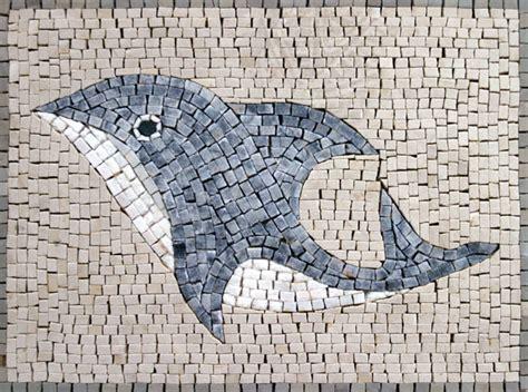 simple mosaic designs mosaics animal dolphin dma homes