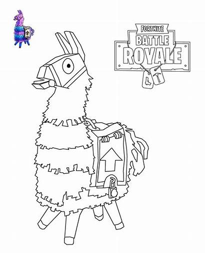 Coloring Fortnite Pages Popular