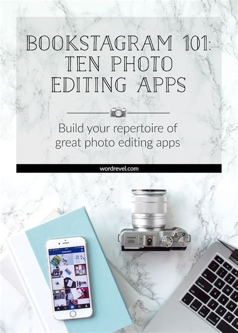 bookstagram  ten photo editing apps young adult book