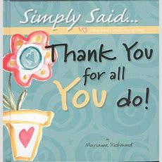 Thank You For All You Do! By Marianne Richmond  Reviews, Description & More Isbn