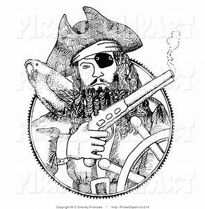 Royalty Free Captain Stock Pirate Designs
