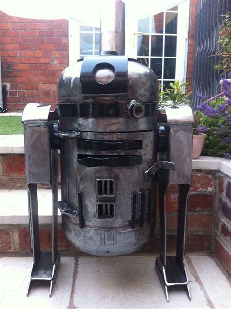 DIY R2-D2 Wood Burner For The Welder In You