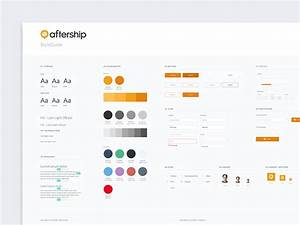 Ui Style Guide By Cupi Wong For Aftership On Dribbble