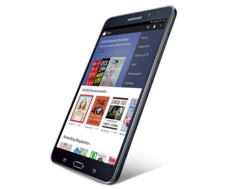 nook for android samsung barnes noble announce galaxy tab 4 nook