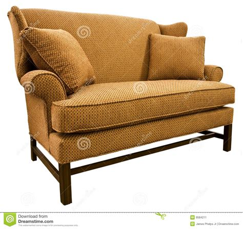 Loveseat Settee by Chippendale Settee Loveseat Stock Image Image 9584211