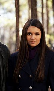 Elena Gilbert Stefan and Damon Salvatore The Vampire ...
