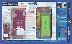Repair X U00ae Samsung Galaxy S6 Edge Plus Repair Guide Magnetic Screwmat