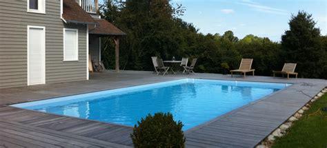 piscine bois rectangulaire piscines bois enterr 233 es et semi enterr 233 es