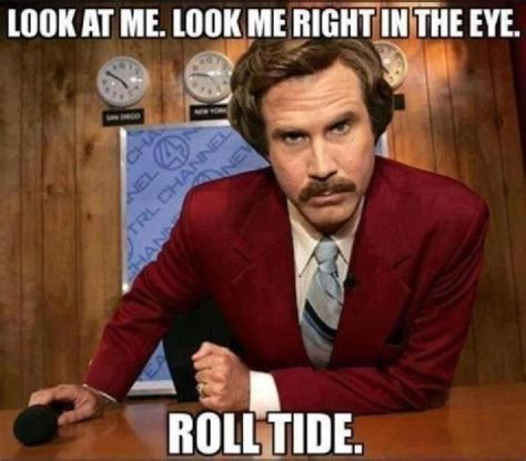 Roll Tide Memes - hate alabama sports stuff pinterest