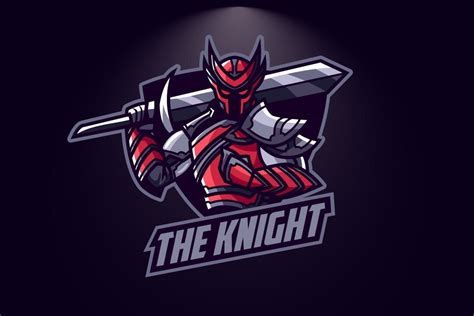 knight esport logo graphic templates suhandi