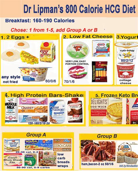 foods  hcg diet  dr lipman