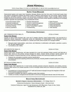 Senior Project Manager Resume Sle by 10 Best Logistics Resume Templates Sles Images