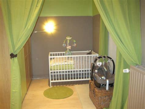 beautiful chambre bebe vert et marron images design