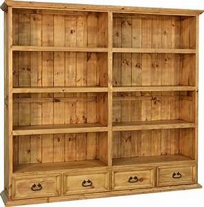 Rustic, Bookshelf, Rustic, Bookcase, Wooden, Bookcase