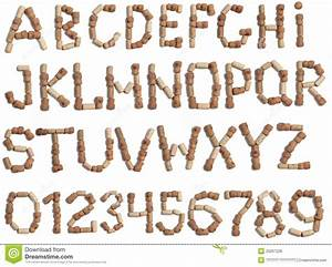 alphabet of wine corks stock photo image of cylinder With cork alphabet letters