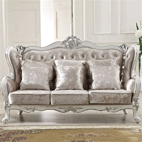 classic sofa sets wholesale europe classic style sofa furniture oak wood carving with bar series fabric cover l809