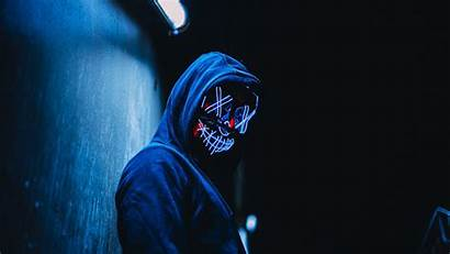 Purge Mask Led Wallpapers Wallpaperaccess Backgrounds