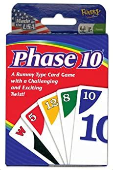 Tens card game is the most popular indian card game. Phase 10 Card Game: Kenneth R. Johnson: 0045802922501 ...