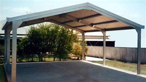 Carport : A Metal Carport Build