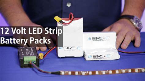 led battery pack  volts  led strip lights high