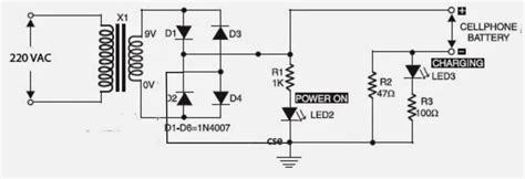 circuits room mobile phone charger circuit diagram