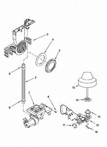 Fill And Overfill Parts Diagram  U0026 Parts List For Model 66516289400 Kenmore