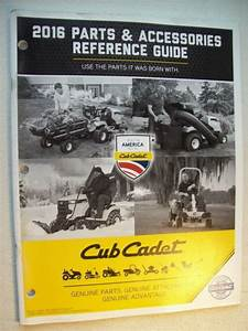 Original Cub Cadet Parts  U0026 Accessories Reference Guide