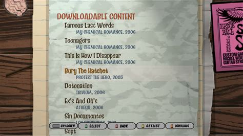 Fundamental to a band's sound, the guitarist can make or break a record. Guitar Hero 3 Song List Download - Music Instrument