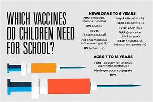 It's Back-To-School Time. Which Vaccines Should Your Child ...