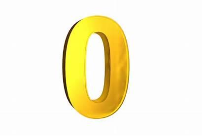 3d Number Numbers Transparent Zero Fonts Letters