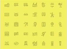 Summer Icon Set Sketch freebie Download free resource