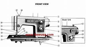 Kenmore Model 1216 1219 1221 Instruction Manual