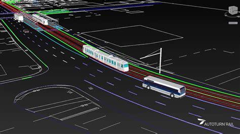 light rail transit track design  analysis cad youtube
