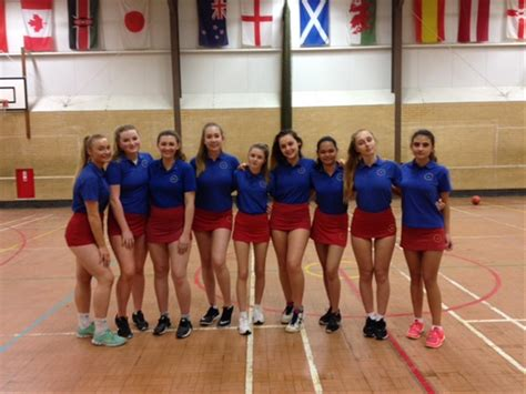 victory   year  netball team anglo european school