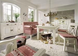 Landhaus Sideboard Champagner Lackiert 3 Trig Paris