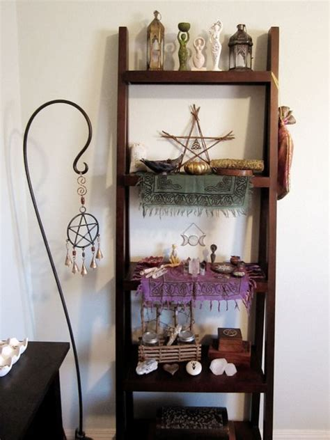 Wiccan Decor - best 25 altars ideas on pagan alter alters