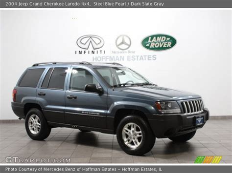 blue jeep grand cherokee 2004 steel blue pearl 2004 jeep grand cherokee laredo 4x4