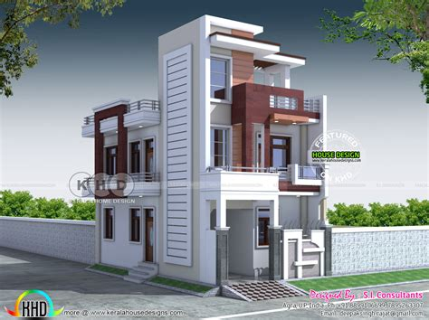 home design consultant 20x40 contemporary indian home design kerala home design