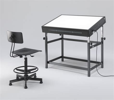 lighted drawing table light tables and light boxes for designer and architect