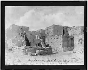 Hopi Indians Homes Pueblos