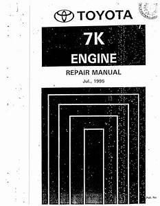 Toyota 7 K Engine Repair Manual 2