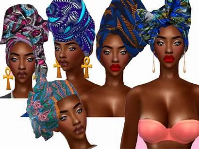 Sims Cc Headscarf Sims4 Kiegross Mods Puff